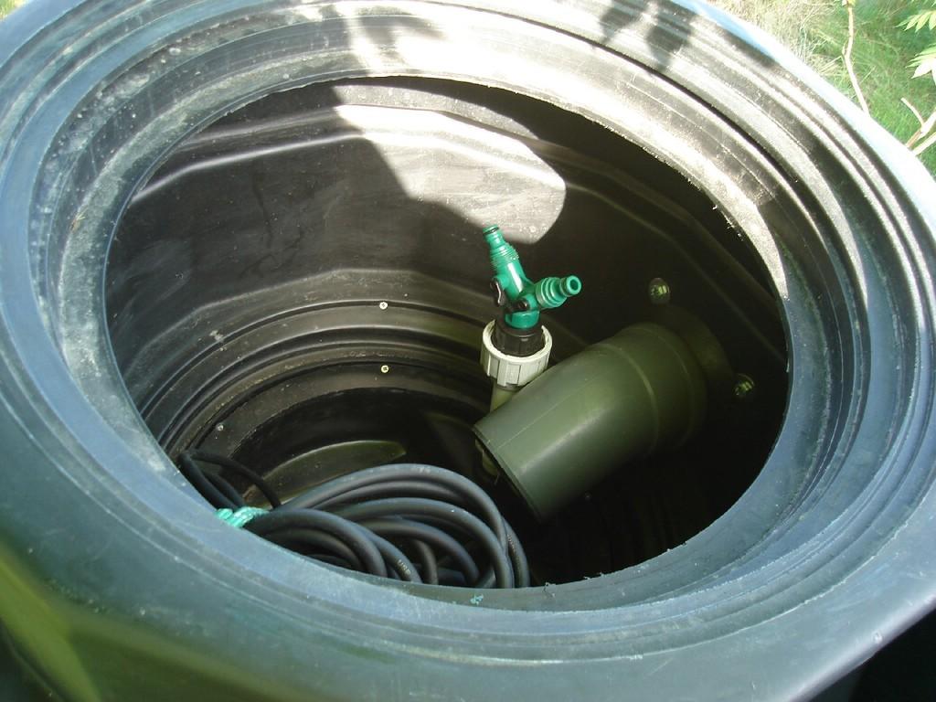 Biologiczne oczyszczalnie ścieków - Wnętrze zbiornika
